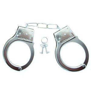 Algema Em Metal Simples Love Cuffs