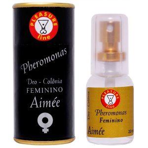 Perfume Feminino Pheromonas Aimée - Deo Colônia 20ml