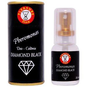 Perfume Masculino Pheromonas Diamond Black - Deo Colônia 20ml