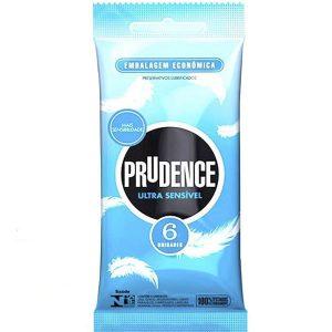 Preservativo Ultra Sensível 6 UND Prudence