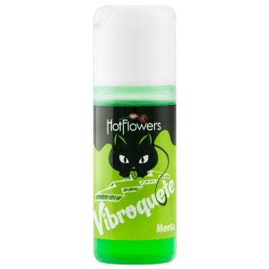 Vibroquete Gel Hidratante Corporal 12g - Hot Flowers Menta